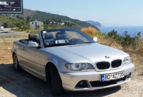 Adriatic Rentals - BMW 320Ci Convertible